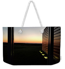 Weekender Tote Bag featuring the photograph Sag Harbor Sunset 2 by Rob Hans