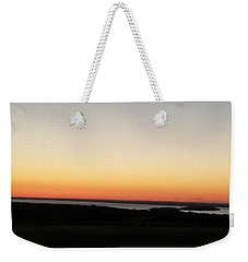 Weekender Tote Bag featuring the photograph Sag Harbor Sunset 3 by Rob Hans