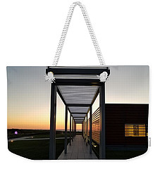 Weekender Tote Bag featuring the photograph Sag Harbor Sunset by Rob Hans