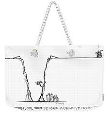 Sagacity Weekender Tote Bag
