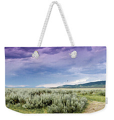 Sage Fields  Weekender Tote Bag by Dawn Romine