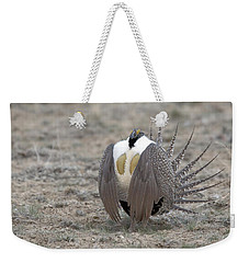 Sage Grouse Weekender Tote Bag