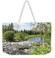 Saginas Lake Weekender Tote Bag