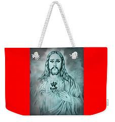 Sagrado Corazon De Jesus Weekender Tote Bag