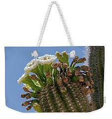 Saguaro Blooms Weekender Tote Bag
