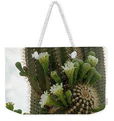 Saguaro Buds And Blooms Weekender Tote Bag