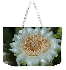 Weekender Tote Bag featuring the photograph Saguaro Cactus Flower by Dan McManus