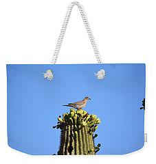 Saguaro Dove 1 Weekender Tote Bag