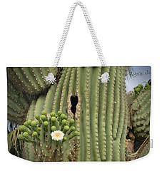 Saguaro In Bloom Weekender Tote Bag