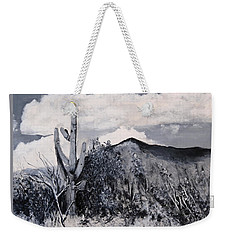Saguaro Landscape Weekender Tote Bag