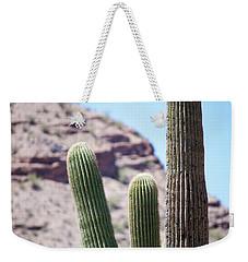 Saguaro Movie Nostalgia Weekender Tote Bag