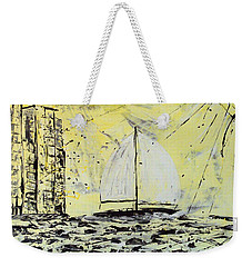 Sail And Sunrays Weekender Tote Bag by J R Seymour