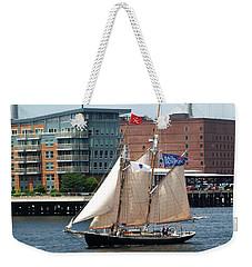 Sail Boston Weekender Tote Bag