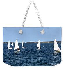 Sail Maine Sailing School, Portland, Maine Weekender Tote Bag