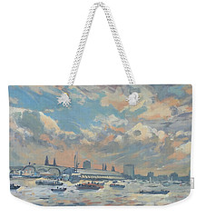 Sail Regatta On The Ij Weekender Tote Bag