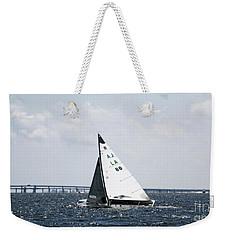 Sailboat And Bridge Weekender Tote Bag