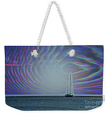 Sailboat And Bubbles Weekender Tote Bag