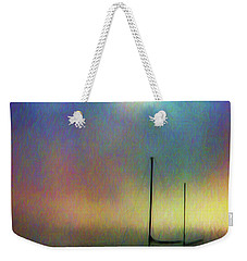 Sailboat At Sunset Weekender Tote Bag