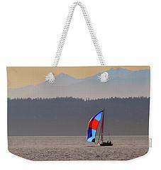 Sailboat Weekender Tote Bag