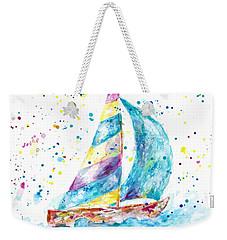 Sailboat By Jan Marvin Weekender Tote Bag