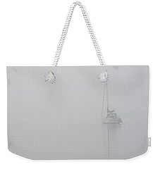 Sailboat In Fog Weekender Tote Bag