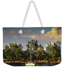Sailboat In The Bay Weekender Tote Bag