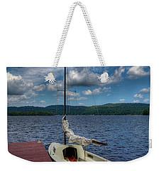 Sailboat On First Lake Weekender Tote Bag