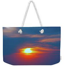 Sailboat Sunset Weekender Tote Bag