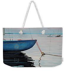 Sailboat Tied Weekender Tote Bag