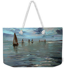 Sailboats On The Chesapeake Bay Weekender Tote Bag