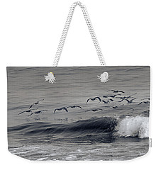Sailing Along Weekender Tote Bag by Betsy Knapp