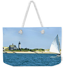 Sailing Around Barnstable Harbor Weekender Tote Bag