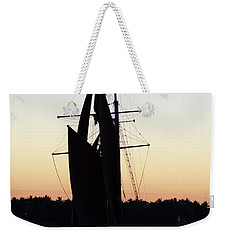 Sailing At Sunset Weekender Tote Bag