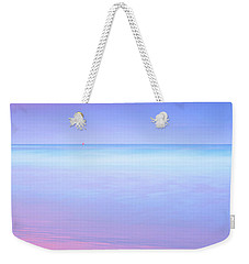 Weekender Tote Bag featuring the photograph Sailing Away by Az Jackson