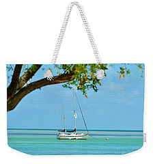 Sailing Away To Key Largo Weekender Tote Bag