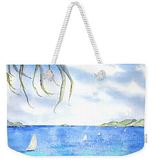 Sailing Between The Islandsd Weekender Tote Bag