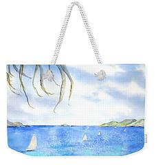 Sailing Between The Islandsd Weekender Tote Bag