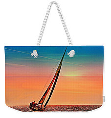 Sailing Boat Nautical 3 Weekender Tote Bag