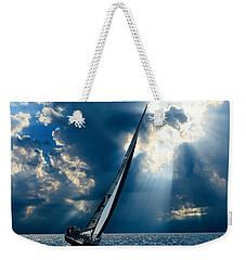 Sailing Boats At Sea , Photography , Weekender Tote Bag