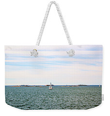 Sailing Boats In Summer Weekender Tote Bag