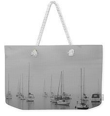 Sailing Bw Weekender Tote Bag by Silvia Bruno