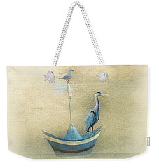 Sailing By The Moon Weekender Tote Bag