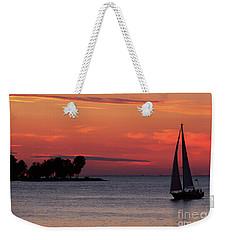 Sailing Home Weekender Tote Bag by Joel Witmeyer