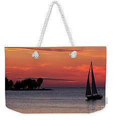 Sailing Home Weekender Tote Bag