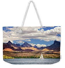 Sailing In Havasu Weekender Tote Bag