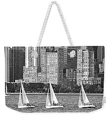 Sailing In New York Harbor No. 3-1 Weekender Tote Bag