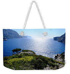 Sailing In The Vastness Weekender Tote Bag