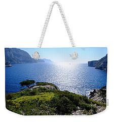 Sailing In The Vastness Weekender Tote Bag