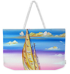 Sailing Into A Dreamy Sunset Weekender Tote Bag