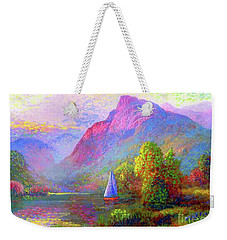 Sailing Into A Quiet Haven Weekender Tote Bag